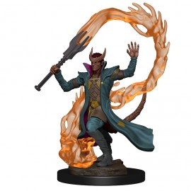 D&D Premium Figures: Tiefling Male Sorcerer