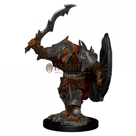 D&D Premium Figures: Dragonborn Male Fighter