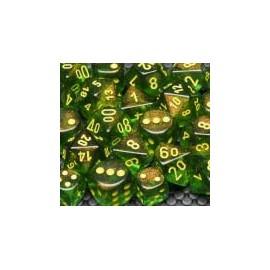 Borealis™ Polyhedral Maple Green/yellow 7‑Die Set