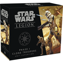 Star Wars Legion: Phase 1 Clone Troopers Unit Expansion