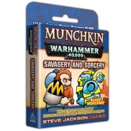 Munchkin Warhammer 40000 Savagery and Sorcery