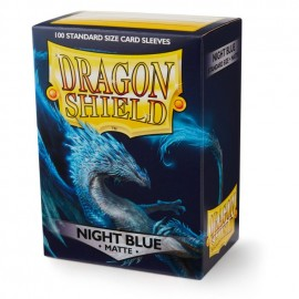 Dragon Shield Matte - Night Blue 'Botan' (10x100)