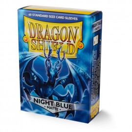Dragon Shield Matte - Night Blue 'Xon' (10x60)