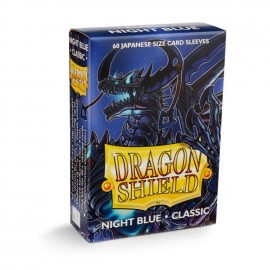 Dragon Shield Japanese Classic Night Blue 'Zugai' (60) - Classic in Box