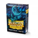 Dragon Shield Matte Japanese Sleeves - Night Blue 'Delphion' (60)