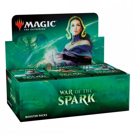 MTG War of the Spark Booster display (36) Spanish