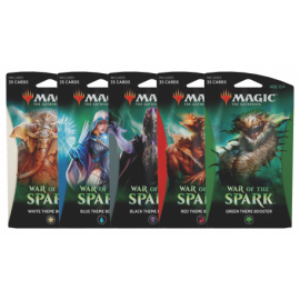 MTG War of the Spark Theme Booster display (10) English