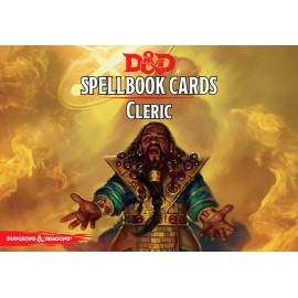 Dungeons & Dragons Cleric Spell Deck (106 cards)