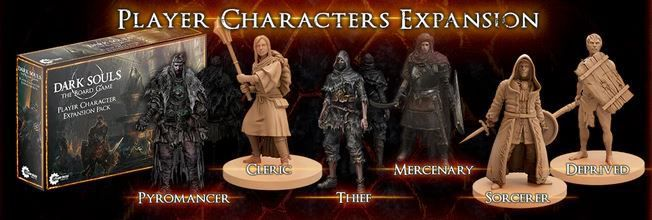 Dark Souls The Board Game Characters Expansion
