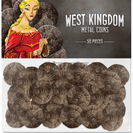 Architects of the West Kingdom Metal Coins