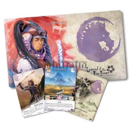 Legend of the Five Rings LCG: Warriors of the wind Celebration Kit