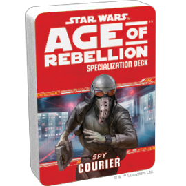 Star Wars Age of Rebellion Spy Courier Specialization
