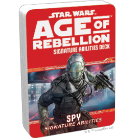Star Wars Age of Rebellion Spy Interrogator Specialization