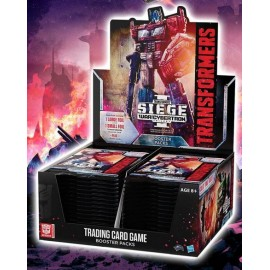 Transformers War of Cybertron Siege I booster display (30p) English