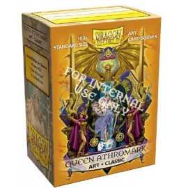Dragon Shield: ART Sleeves Classic - Queen Athromark: Coat-of-Arms (100)