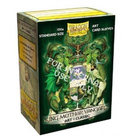 Dragon Shield: ART Sleeves Classic - King Mothar Vangard: Coat-of-Arms (100)