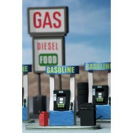 WizKids 4D Settings: Gas Station
