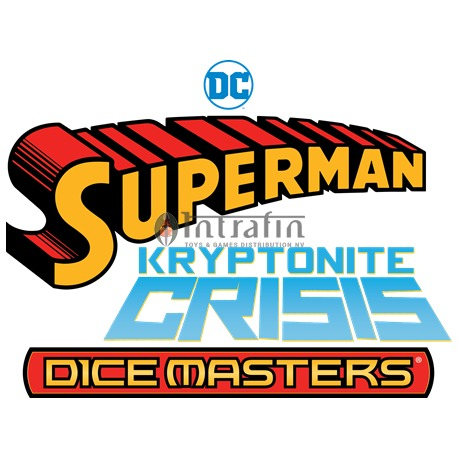 DC Dice Masters: Superman Kryptonite Crisis Countertop Display