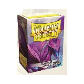Dragon Shield Matte Non-glare - Silver (100)
