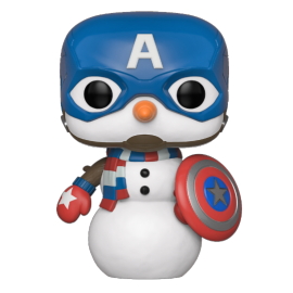 POP Marvel: Holiday - Captain America