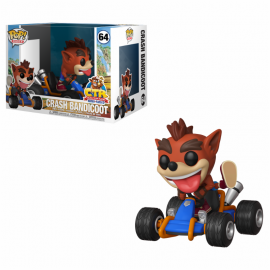 Pop Rides 64: Crash Team Racing - Crash Bandicoot