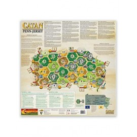 Catan Geographies: Pennsylvania - New Jersey