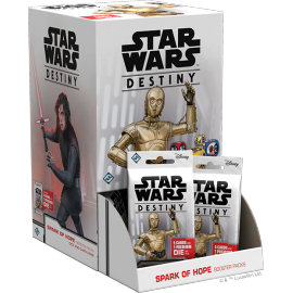 Star Wars Destiny: Spark of Hope Booster Display