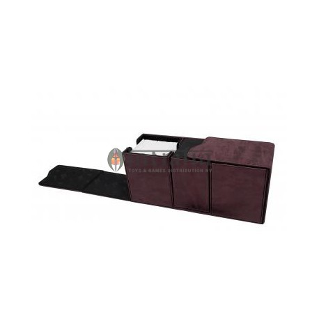 Alcove Vault Box Ruby Suede