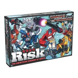 Risk Transformers: The Deception Invasion of Earth - English