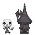 POP Town: Nightmare Before Christmas - Jack w/ Jack's House