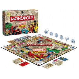 Monopoly Marvel Comics Collector's Edition - English