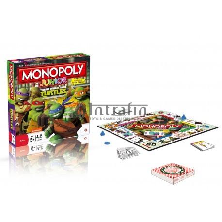 Monopoly Junior Teenage Mutant Ninja Turtles - English
