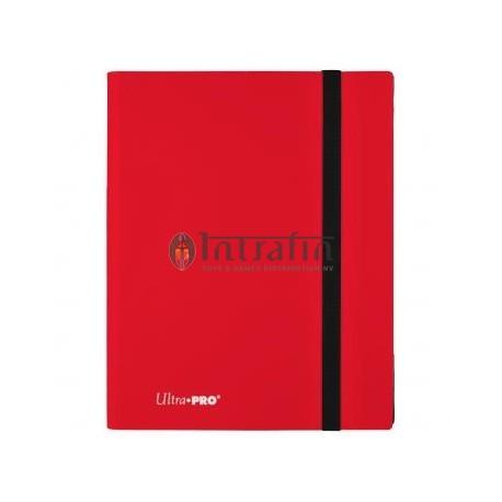 Pro Binder 9-Pocket Apple Red