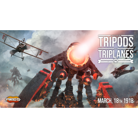 Wings of Glory - Tripods & Triplanes™: WW2 Counter Set