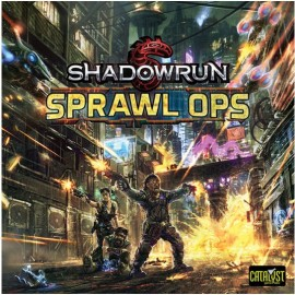 Shadowrun 5 Sprawl Ops Board Game