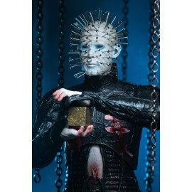 "Hellraiser - 7"" Scale action Figure - Ultimate Pinhead case 6p"