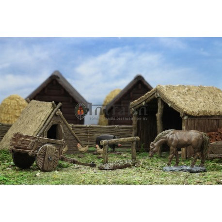 WizKids 4D™ Settings: Medieval Farm