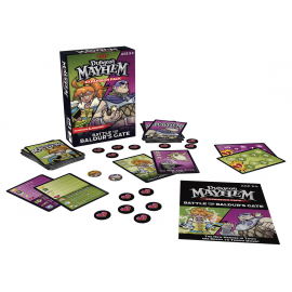 Dungeon Mayhem Card game Battle for Baldur's Gate English