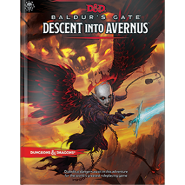 D&D Next Baldur's Gate Descent into Avernus book