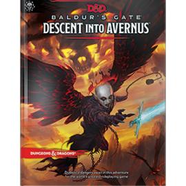 D&D Next Baldur's Gate Descent into Avernus book
