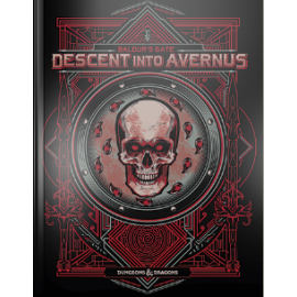 D&D Next Baldur's Gate Descent into Avernus book Alternate cover