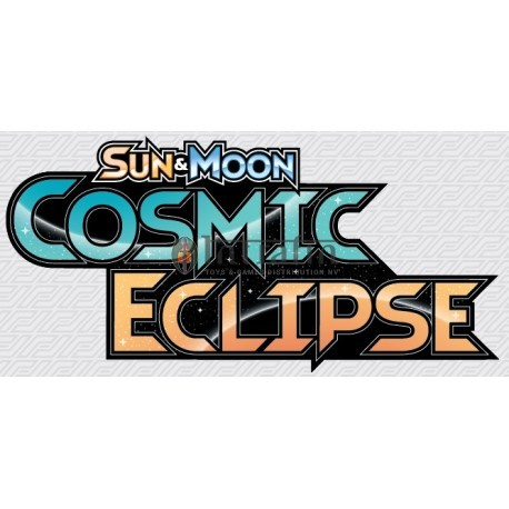 Pokémon Sun & Moon 12 Cosmic Eclipse 3-Booster Blister Eng