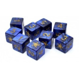 Elder Dice Sets: Astral Star Sign d6 Set