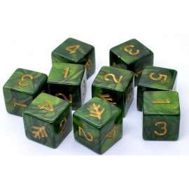 Elder Dice Sets: Lovecraft Elder Sign d6 Set