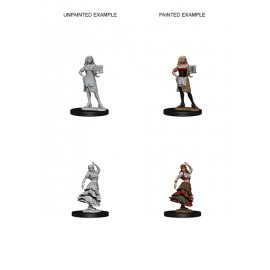 Pathfinder Battles™ Deep Cuts™ Unpainted Miniatures: Bartender/Dancing Girl