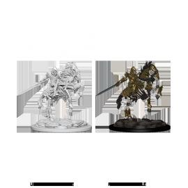 Pathfinder Battles™ Deep Cuts™ Unpainted Miniatures: Skeleton Knight on Horse