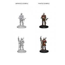 Pathfinder Battles™ Deep Cuts™ Unpainted Miniatures: Town Guards