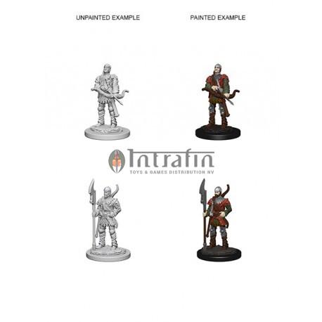Pathfinder Battles™ Deep Cuts™ Unpainted Miniatures: Town Guards