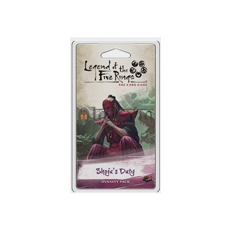 Legend of the Five Rings LCG: Inheritance Cycle 4 Shoju's Duty