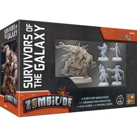 Zombicide Invader: Survivors of the Galaxy (Retail of Kick Starter)